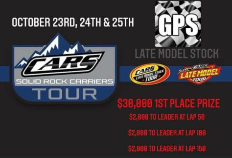 CARS Tour Late Model Stock at Greenville Pickens Speedway